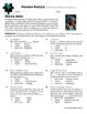 Person Puzzle -- Graphing Compound Inequalities - Hawa Abdi Worksheet