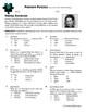 Person Puzzle -- Multiplying Monomials - Irena Sendler Worksheet