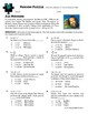 Person Puzzle -- Absolute Value Equations - Jim Henson Worksheet