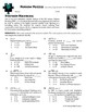 Person Puzzle -- Solving Equations with Radicals - Stephen Hawking WS