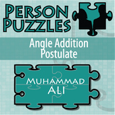 Person Puzzle - Angle Addition Postulate - Muhammed Ali