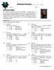 Person Puzzle -- Angle Sum Theorem - Jessica Cox Worksheet