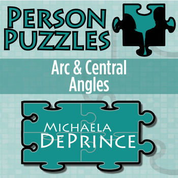 Person Puzzle - Arc and Central Angles - Michaela DePrince