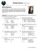 Person Puzzle -- Bar Graphs - Erin Gruwell Worksheet