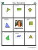 Person Puzzle - Classifying Quadrilaterals - Kelly Perkins Worksheet