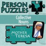 Person Puzzle - Collective Nouns - Mother Teresa
