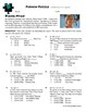 Person Puzzle -- Completing the Square - Diana Nyad Worksheet