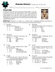 Person Puzzle -- Composition of Functions - Stan Lee Worksheet