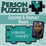 Person Puzzle - Concrete and Abstract Noun - LeBron James