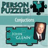 Person Puzzle - Conjunctions - John Glenn