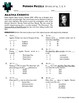 Person Puzzle - Divide by 6, 7, 8, 9 - Agatha Christie Worksheet