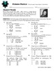 Person Puzzle - Double and Half Angle Identities - Nancy W