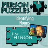Person Puzzle - Identifying Nouns - Jim Henson