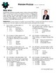 Person Puzzle - Inverse Variation - Bill Nye Worksheet