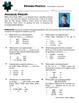Person Puzzle - Irrational Numbers - Michael Phelps Worksheet