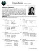 Person Puzzle -- Ordering Numbers - Amelia Earhart Worksheet
