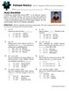 Person Puzzle - Perfect Squares and Perfect Cubes Binomials - Mae Jemison