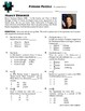 Person Puzzle - Related Rates - Nancy Brinker Worksheet