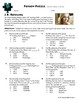Person Puzzle -- Surface Area of Solids - J.K. Rowling Worksheet