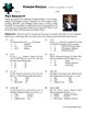 Person Puzzle -- Triangle Inequality Theroem - Pat Summitt Worksheet