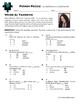 Person Puzzle -- Understanding Exponents - Weird Al Yankovic Worksheet