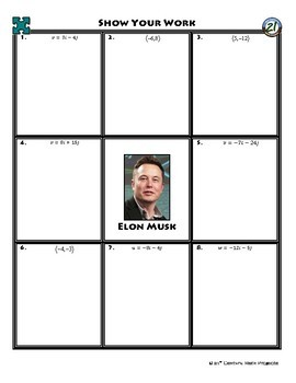 Person Puzzle - Unit Vectors - Elon Musk WS