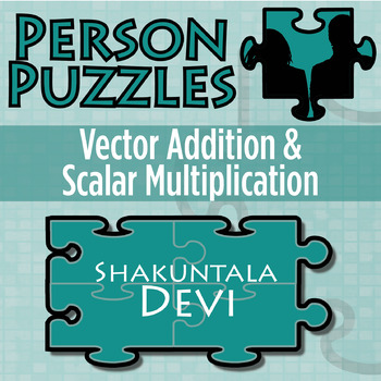 Person Puzzle -- Vector Addition & Scalar Multiplication - Shankuntala Devi WS