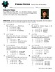 Person Puzzle - Vertex Form of Parabola - Sergei Brin Worksheet