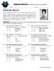 Person Puzzle -- Vertices, Faces and Edges - Florence Kelley Worksheet