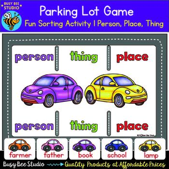 Person, Thing, Place - Noun Sorts