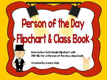 Person of the Day Flipchart with Class Book