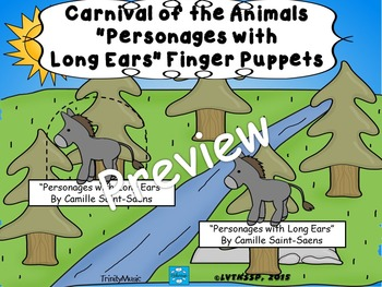 Personages with Long Ears from Carnival of the Animals (Fi