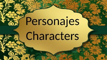 Personajes/Characters