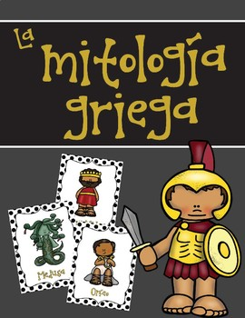 Personajes de la mitología griega (Greek Mythology Characters in Spanish)