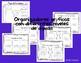 Personajes y trama organizador gráfico