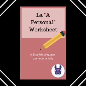 Personal A - La a personal práctica - Spanish
