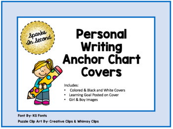 Writing Anchor Chart Cover