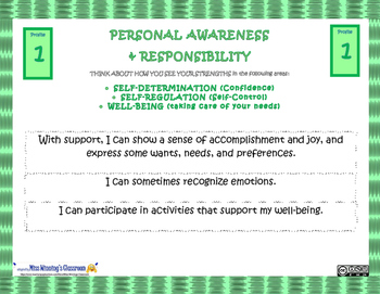 Personal Awareness & Responsibility Core Competency Slides