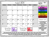 Customizable Behavior Clip Chart, PBIS, PBS