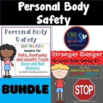 Personal Body Safety - BUNDLE - Stranger Danger & Safe/ Unsafe Touch