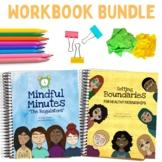 Personal Boundaries and Mindfulness Workbook Bundle