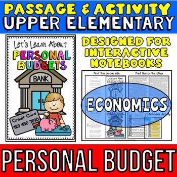 Personal Budgets Economics Reading Passage And Questions TpT