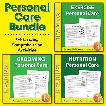 Personal Care Reading Comprehension {Bundle}