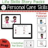 Personal Care Skills Life Skills Digital Story Packs  (Boo