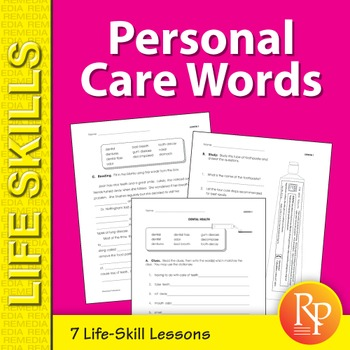 Personal Care Words