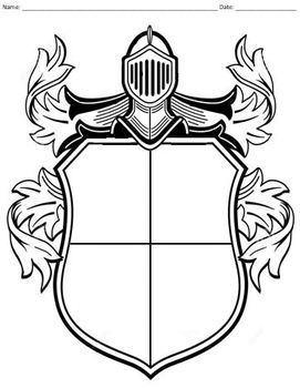 Personal Coat of Arms Activity