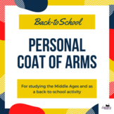 Personal Coat of Arms - perfect for back-to-school & study