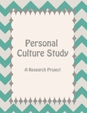 Personal Culture Study - A Research Project