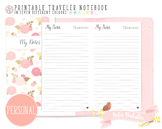 Personal Dated Notes Traveler Notebook Refill