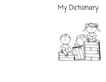 1/2 Page Personal Dictionary